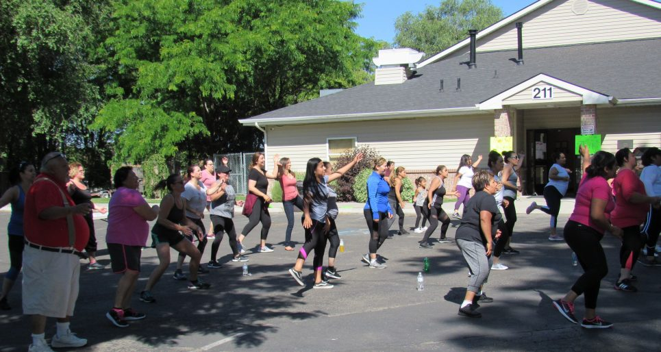 Nampa (ID) Housing Authority Outdoor Fitness